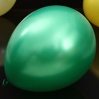 """50 pieces/lot 12 """"3.2 g round pearl 100%latex  dark green  balloons inflatable ball party decorations wedding brithday balloon"""