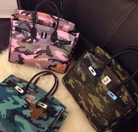 Camouflage women handbag 2014 fashion bags female PU women leather handbags women handbag shoulder bag women messenger bag