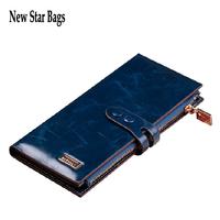 Korean version women Genuine leather wallet Long section Zipper wallet new wallet .TS149A