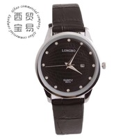 Free shipping 2014 watches genuine leather for women quartz watches LB8857A