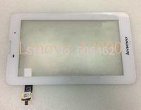 Original White 7 inch Lenovo A3000 Replace Touch Screen For Lenovo A3000