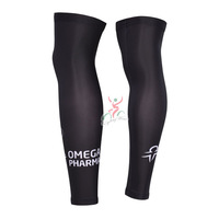 New 2014 Quick step Cycling Leg Warmers / bike Leg Sleeve / Cycling Clothes White / Red Size:S-XXXL Free Shipping