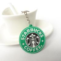Starbucks classic Green Goddess creative keychain