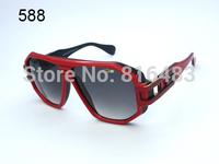 New top hot Brand Cazal 163 Fashion Designer women men Sunglasses Vintage eyewear popular Best quality 3cols free shipping
