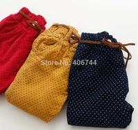 kids winter dots  pants,5pcs/lot,HZ-14MM03