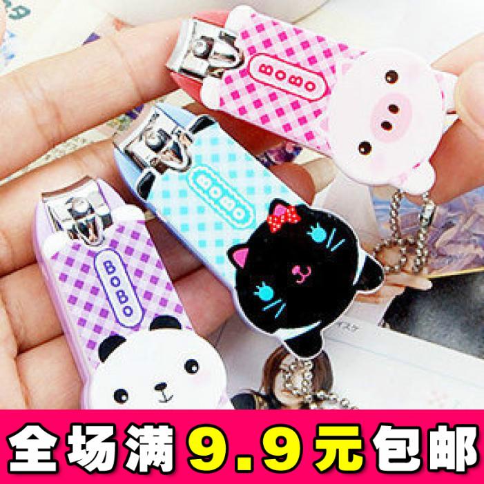 5431 home cartoon animal finger plier finger nail clipper scissors nail art plier new arrival(China (Mainland))
