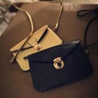 1x2014 toothpick small bag mini messenger bag mobile phone bag female bags should handbags Free Shipping 12x17cm