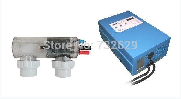 Piscine au sel pentair lectrolyseur g n rateur 20 g h for Traitement d eau piscine