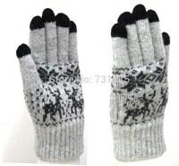 Women's onta thermal women's gloves wool gloves five fingers