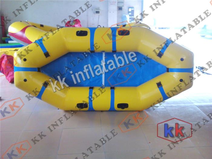 inflatable pontoon fishing boat rubber boat(China (Mainland))