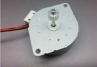 NEW 24V 42mm 4-phase 5-wire stepper motor thicker type stepping motor with gear 0.5 mode small toy cars, robot model