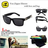 New Fashion Summer Brand Von Zipper ELMORE Sunglasses Men Sport Glasses oculos de sol  G2001
