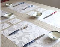 Japan&Korea style PVC place mat table dinner mat & coaster  24pcs/lot  waterproof  wholesale #RN293
