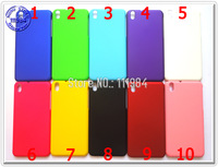For HTC Desire 816 Case Pure Simple Color Blue White Black Red Pink Green Yellow Smartphone Cover Skin for HTC 816 10pcs