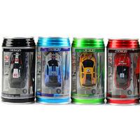 Free DHL,24PCS Mini-Racer Remote Control Car Coke Can Mini RC Radio Remote Control Micro Racing Car Mixed Color