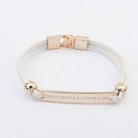 2014 New Fashion Design Korea Style Vintage Popular Simple Delicate Metal Bracelet  Alloy Jewelry For Women Retail&Wholesale