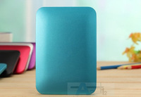 Blue Free shipping Dual USB Mobile power 10000 MAH power bank  for iPhone Samsung phones