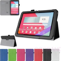 """Free shipping WY5 Hand Strap Wallet Stand Leather Case Skin Folio Cover For LG V700 10.1"""" LG G pad"""