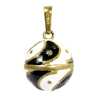LD436 Fashion Harmony ball Vintage Pattern Lucky Golden Grain Bell Ball 20mm For Pregnant and baby wholesale Free Shipping
