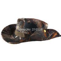 Free Shipping 1pcs men women Outdoor Camping Travel Camouflage sun Cap Men Fishing camo Bucket Hats