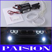 4*80MM CCFL Angel Eyes Halo Rings Kit for Fiat GRANDE PUNTO HeadLight DRL