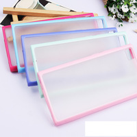 for xiaomi 3 transparent scrub m3 silica gel mobile phone protective case  Free shipping  +wholesale
