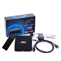 wholesale  Newest M8 Android TV Box Amlogic S802 Quad core XBMC FULLY LOADED Free Movies Sports Kids Adult TV 4K HD media player