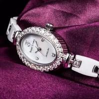Royal Crown Brand straight  Italian Royal Crown ceramic bracelet fashion female table watch