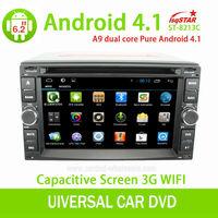 "6.2""Capacitive pure android 4.2 dvd radio for nissan Tiida Qashqai Sunny X-Trail Paladin Frontier Patrol Versa Livina"