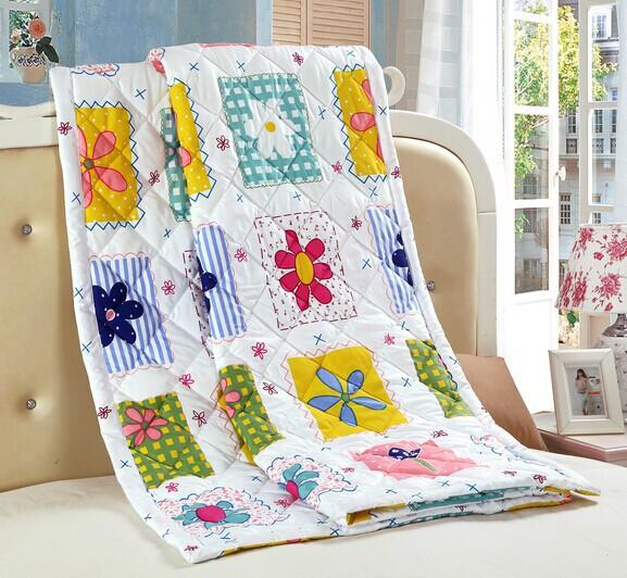 diretamente da fábrica vendas 16 estilos de impressão padrão de colchas de algodão colcha de verão twin único peças bedding(China (Mainland))