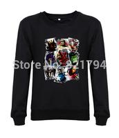 2014 new fashion men/women sweatshirts Marvel - Scatter Up printed flim movie mens hoody hoddes custom design print fleece