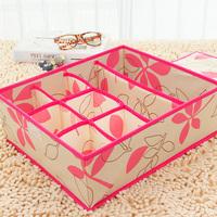 Free shipping new material heightening 8 grid underwear storage box / sorting box covered bra / underwear storage box
