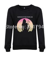 2014 new men custom sweatshirts Queens of the Stone Age - Succubus printed sweatshirt fashion men clothing free shipping