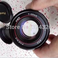 original new Phoenix, 50 mm/F1.7 lens  for SONY NEX fuselage manual lens nex5R 7R, pentax , panasonic , Fuji , samsung camera
