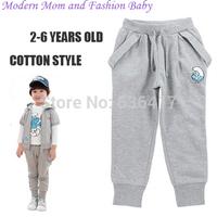 2014 new arrival high quality childrens pants/boys pants autumn/fashion kids boys pants/girls cool cartoon pants long