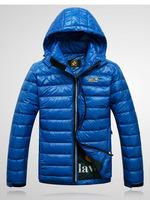 2014 new men winter down jacket outdoor parka sports down hooded coat