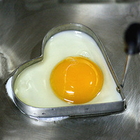 Kitchen with stainless steel heart-shaped fried egg mold / creative heart-shaped egg ring / DIY love omelette device/Egg Tools