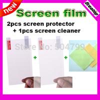 2pcs Screen film + 1pcs screen cleaner for Original Jiayu G4 G4S octa core MTK6592 android smart phone free shipping