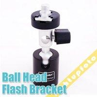 Flash Shoe Umbrella Swivel Holder Bracket Stand Mount C PFB4B free shipping