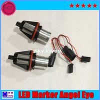2X LED marker for car  CREE chips E39/E53/E60/E61/E63/E64/E65/E66/ E87 LED angel eyes 10W LED auto DRL daytime running light