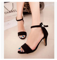 2014 summer Korea fish mouth pumps for women thin women's sexy stilettos shallow mouth high heels  free shipping