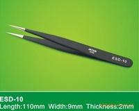 6pcs Safe Anti-static Tweezers Maintenance Tools ESD Eyebrow Eye False Eyelash Make Up Makeup Tools & Accessories Tool Steel