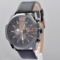 2014 New Big Dial Quartz Men's Watches Fashion Military Army Vogue Wrist Watch High quality ML0567