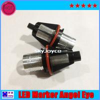 2PCS/lot AUTO LED angel eyes  E39/E53/E60/E61/E63/E64/E65/E66/ E876W Bridge LED marker auto  DRL daytime running light