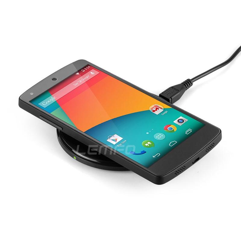 ультратонкий беспроводной зарядки зарядное устройство Pad для Nexus