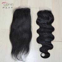 "malaysian brilliant woman top lace closure hair natural black color 10"" to 20"" human virgin hair 2pcs per lot"