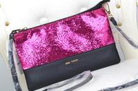 AC165 Modern Fashion sexy classic bling bling PU women shoulber bag sling bag messenger bags cross body