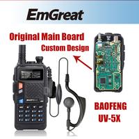 Hot  BAOFENG UV-5X Dual Band/Dual Watch Upgraded Version of UV-5R UHF+VHF Two-Way Radio Walkie Talkie FM Function P0015842