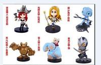 Leather city female doll hand model wolf cartoon wholesale LOLQ version of the 5 generation 6 hero alliance