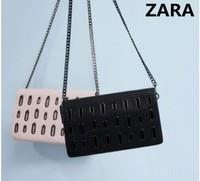 AC166 Modern Fashion PUNK solid chain PU women handbag shoulber bag sling bag messenger bags cross body new 2014